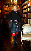 Lady Chrystel kilts from France Robertson face