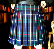 Lady Chrystel kilts from France Robertson dos