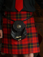 Lady Chrystel kilts from France Wallace de face