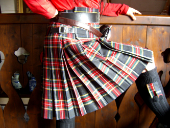 Lady Chrystel kilts from France  Double box