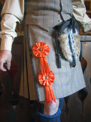 Lady Chrystel kilts from France  Rosettes